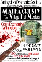 FDS - Agatha Crusty and the Village Hall Murders poster
