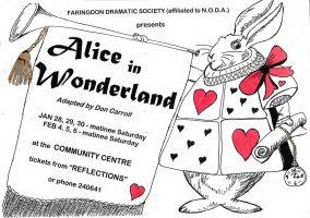 FDS - Alice in Wonderland poster