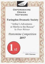 arthurs-adventure-2017-odn-panto-certificate