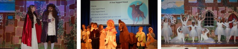 2009 Beauty and the Beast - a pantomime by member Carolyn Taylor