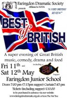 FDS - Best of British poster