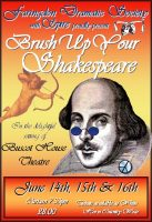 FDS - Brush Up Your Shakespeare poster