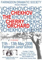FDS - The Cherry Orchard poster