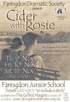 Cider With Rosie 2017 poster