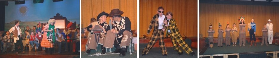 2004 How Clarence Earned His Wings - a pantomime by member Nick Coard