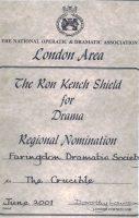 crucible-2001-ron-kench-certificate