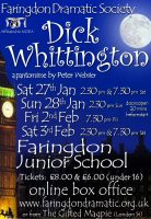FDS - Dick Whittington poster