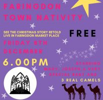 FDS - Faringdon Town Nativity poster