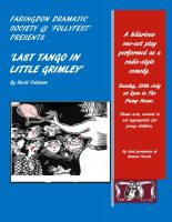 FDS - Last Tango In Little Grimley poster