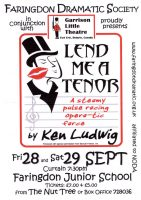 FDS - Lend Me a Tenor poster