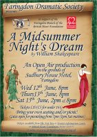 FDS - A Midsummer Night's Dream poster