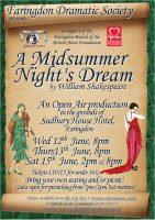 FDS - A Midsummer Night's Dream poster