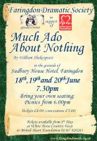 FDS - Much Ado About Nothing poster