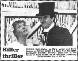 Murder Of Maria Marten 1986 Cutting