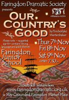 FDS - Our Country's Good poster