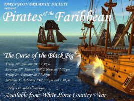 FDS - Pirates of the Faribbean poster