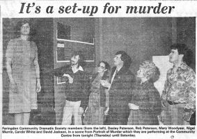 Portrait Of Murder 1985 Cutting