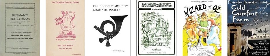 A selection of programmes over the years
