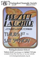 FDS - Present Laughter 2012 poster