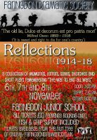 FDS - Reflections 1914-1918 (including Lions and Donkeys) poster