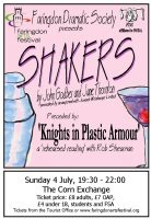 FDS - Shakers + Knights in Plastic Armour poster