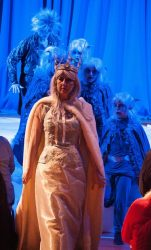 The Snow Queen - with her ice gang